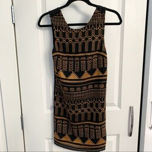 Urban Outfitters Sparkle & Fade black dress XS